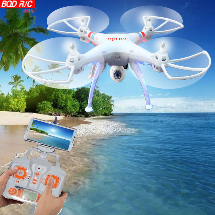Brands BQD R/C x9w WiFi Real Time Video and 2.4G 4ch 6 Axis Venture with 2MP Camera Big RC Quadcopter(China (Mainland))