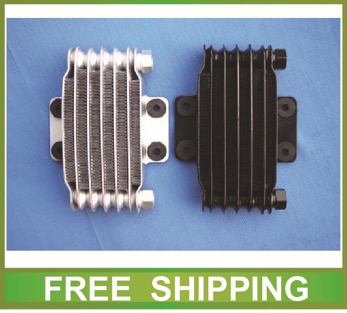 aluminium radiator oil cooler alloy 50cc to 250cc zongshen loncin lifan horizotal engine dirt pit bike motorcycle accessories(China (Mainland))