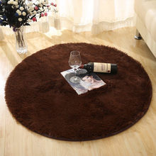 free shipping,Silky carpet round fitness yoga mats cushion computer lovely living room bedroom bedside sample room laying