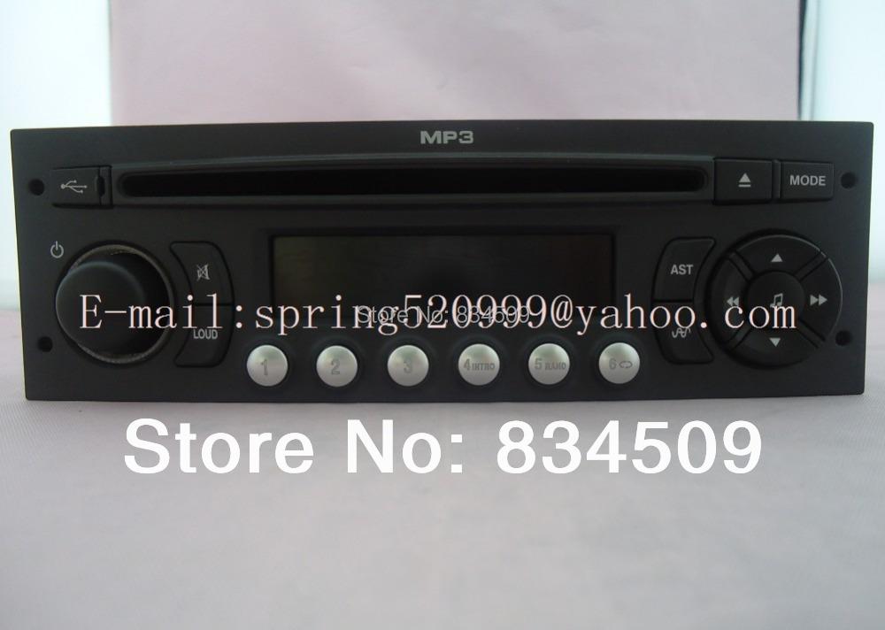 original rd9 cd receiver for peugeot 307 308 408 car radio. Black Bedroom Furniture Sets. Home Design Ideas