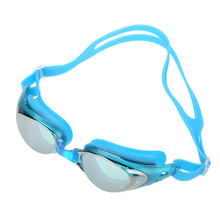 Men Women Adjustable Swimming Goggles Water Resistant Anti-fog UV Shield Protection Diving Mask Adult Diving Glasses with Box(China (Mainland))