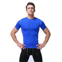 Brand Fitness Mens Basketball Jerseys Quick Dry Compression Gym Training Bodybuilding Football Pro T Shirts Men Sportswear(China (Mainland))