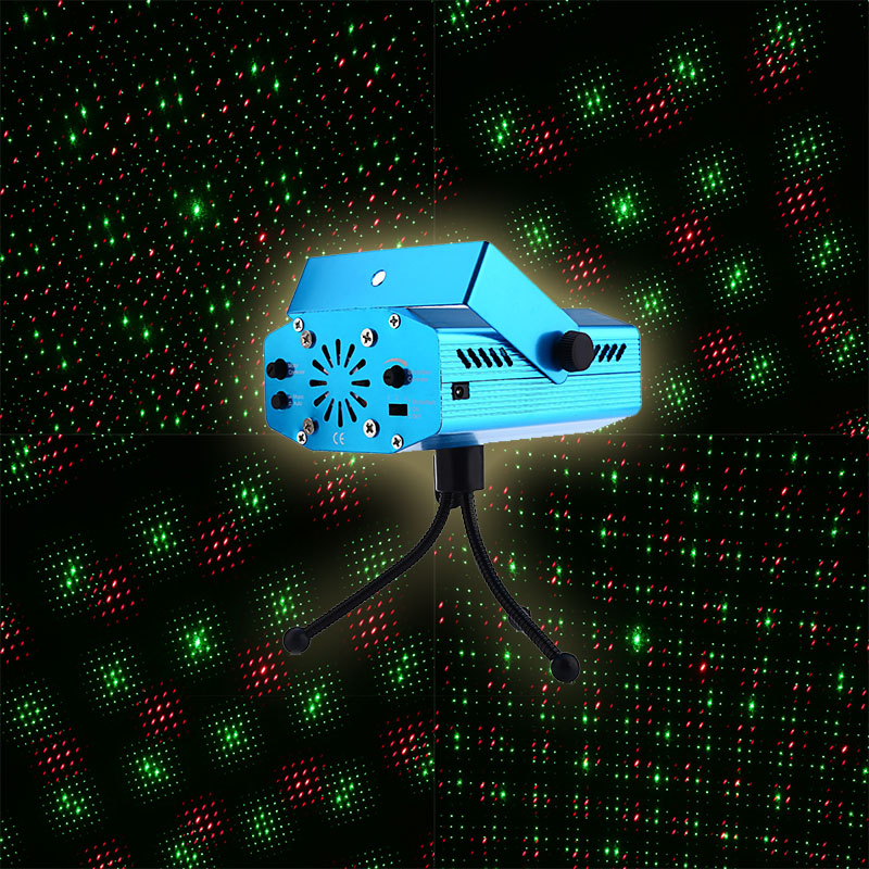 Mini LED Stage Laser Projector Voice control Laser Pointer Night Club DMX Stage Light Show Party DJ Disco Xmas Pattern Lighting(China (Mainland))