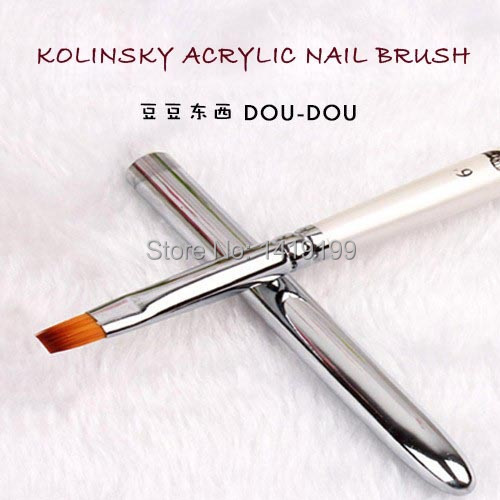 1 PCS Kolinsky Acrylic Nail Brush High Quality Nail Art Brush For Nail Gel Nail Polish DIY Drawing(China (Mainland))