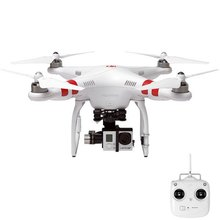 Free shipping DJI Phantom 2 Drone 100% Original GPS 2.4G RTF RC Quadcopter with Zenmuse H3-3D 3 Axis Gimbal rc helicopter