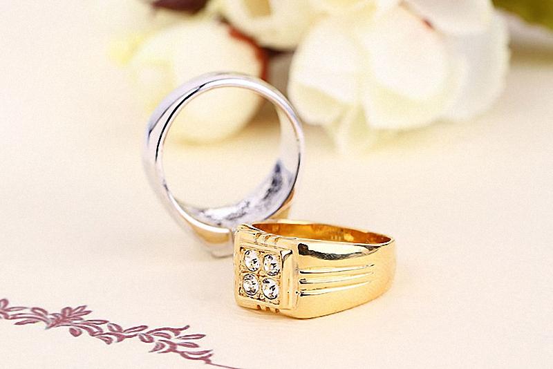 HTB1k7yLKpXXXXcYXXXXq6xXFXXX0 - Brand TracysWing Rings for men Genuine Austria Crystal 18KRGP Gold Color Fashion wedding ring New Sale Hot #RG90044