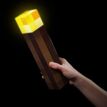 Original Light Up Minecraft Torch LED Minecraft Lamp Hand Held or Wall Mount(China (Mainland))