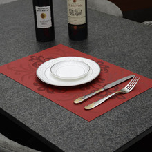 PVC Dinning Placemats Home Table Decoration font b Accessories b font Heat insulated font b Kitchen