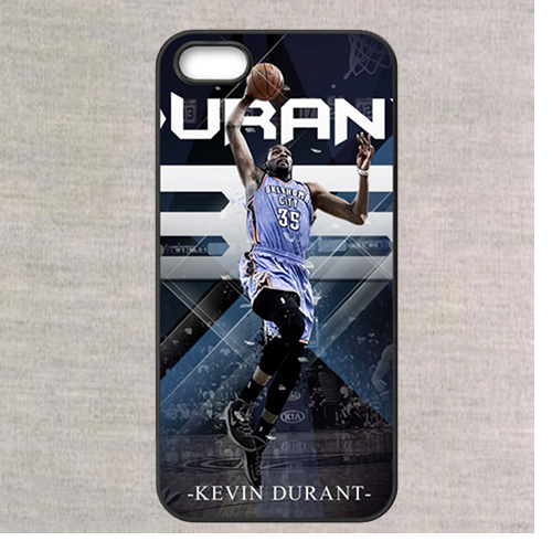 Thunder Star Kevin Durant KD fashion case cover for iphone 4 4s 5 5s se 5C se 6 6 plus 6s 6s plus 7 7 plus & 6plus(China (Mainland))