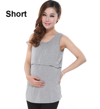 Summer Modal Maternity tanks pregnancy Camis nursing tank tops for pregnant woman clothes breast feeding top home wear clothing(China (Mainland))