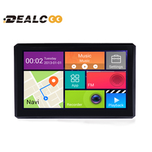 Dealcoo 2016 New 7 inch 1080P FHD Car DVR Recprder Camera GPS Navigation Android Quad-core WIFI 8G Free Map Dashcam sat nav - Shenzhen Tech Co,.Ltd store