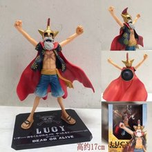Buy Figuarts ZERO One Piece Dead Alive Lucy Monkey D Luffy PVC Action Figures Collectible Model Toy Doll 17CM for $14.27 in AliExpress store