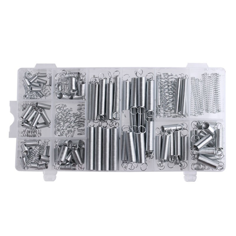 Springs Assortment In 20 Sizes 200PCS/set Practical Metal Tension Compresion