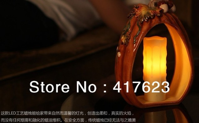 Small dripping melted  candle/flamess paraffin wax /party decoration 4pcs for wholesale price