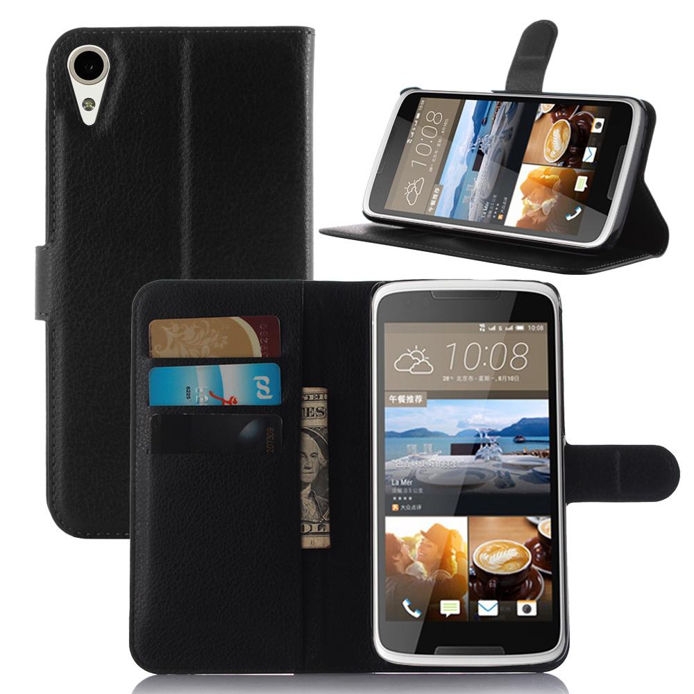 Wholesale 10pcs For Htc Desire 828 Case Leather Cover Wallet Leather Case Phone Bag For Htc Desire 828 828w Stand Cover