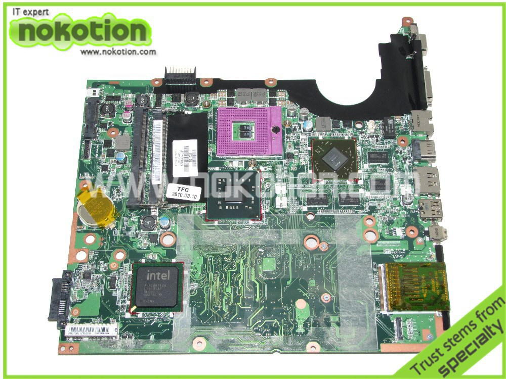 Laptop motherboard For hp pavilion DV7 578130-001 Mainboard Intel with ATI Graphics Card DDR3 High quality Mother Boards(China (Mainland))