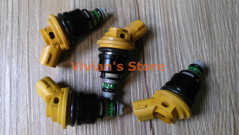 good quality Japan original 550cc fuel injectors fuel injection parts A46-00 yellow color for sale