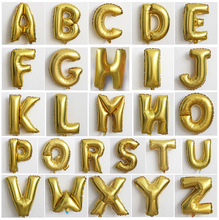 32 Inch Letter A-Z Foil Balloons Birthday Party Wedding Thanksgiving Decoration event & party supplies B0931(China (Mainland))