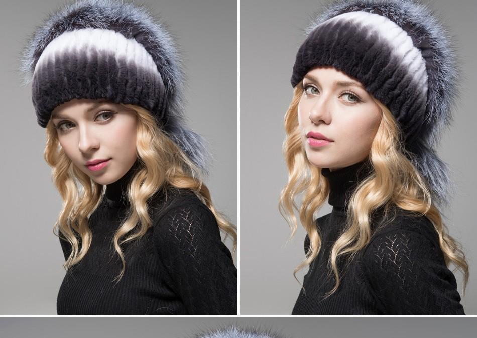 fur hat female winter PCM006 (16)