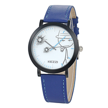 2016 Kezzi New Cartoon Children Watch Boy Girl Kids Movement Waterproof Leather Sports Quartz Wristwatches Relojes k-1514(China (Mainland))