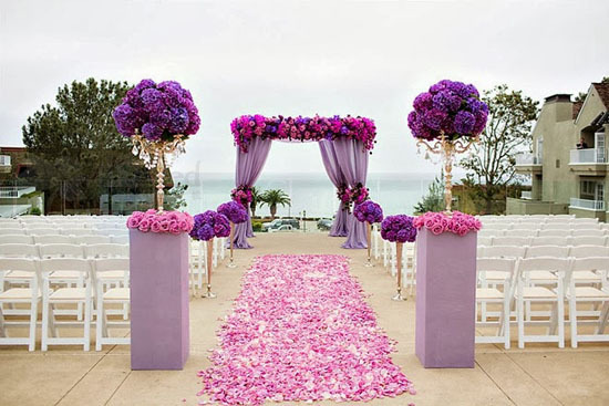 2015 high quanlity low price top sale romantic wedding party bridal rose petals silk flowers(China (Mainland))