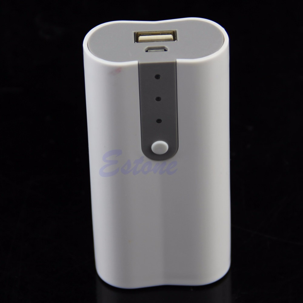 image for 2x 18650 USB Mobile Power Bank Battery Charger Box Case DIY Kit For MP