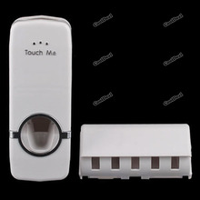 touch brush toothpaste dispenser promotion