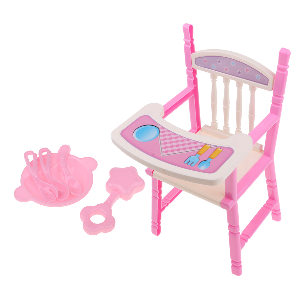 Dollhouse Miniature Tableware for 25cm Mellchan Baby Dolls Accessories #A