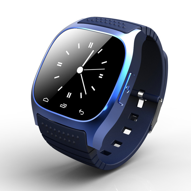Bluetooth Sport Smart Watch Wristwatch M26 Luxury Wrist Watch with Dial SMS Remind Pedometer for Samsung Huawei Andriod Phone(China (Mainland))