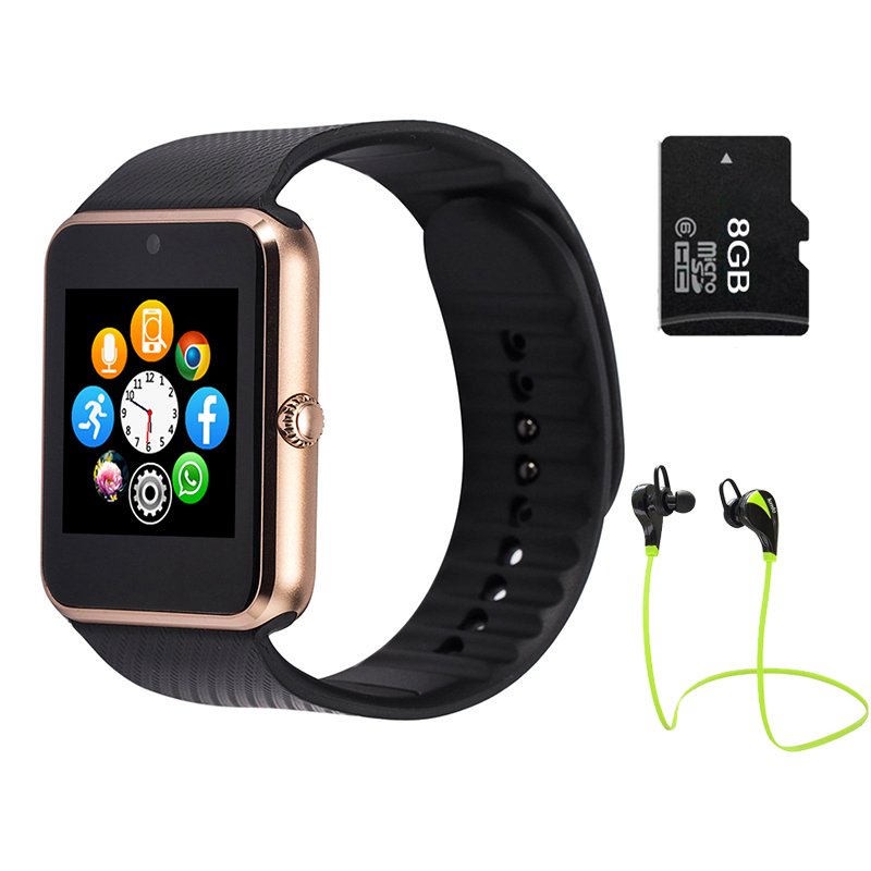 LEMFO GT08 Smart watch Clock Support Sim TF Card Bluetooth for Apple Ios Iphone Android Phone Smartwatch Watch<br><br>Aliexpress