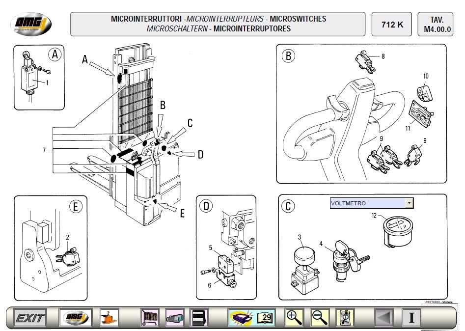 Doosan Forklift 2012 Parts catalogue for Doosan Daewoo