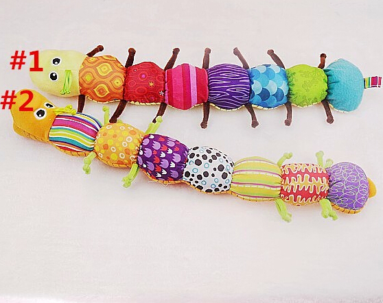 1PCS Musical Inchworm Educational Children Toys , Musical Stuffed Plush Baby Toys TOP19(China (Mainland))