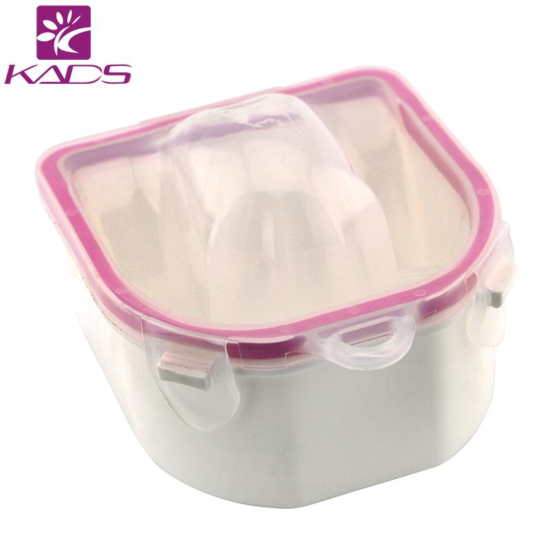 Wholesale nail salon equipment 10psc nail soak bowl finger for Acrylic nail removal salon