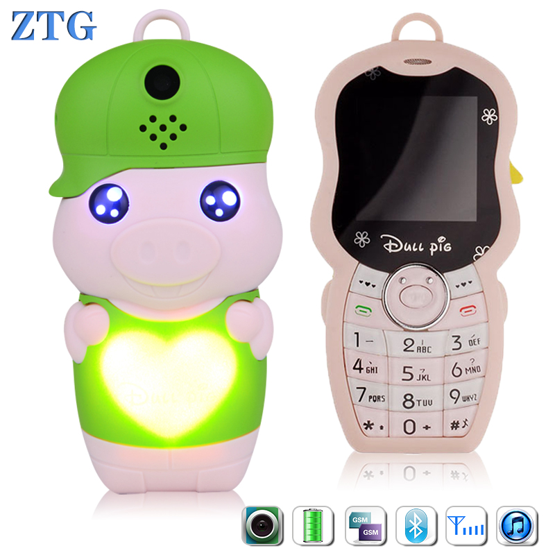 ZTG Mini Mobile Phone for girl Kids Surprise Credit card cell phone children Mobile Baby Phones Toy Talking education Electronic(China (Mainland))