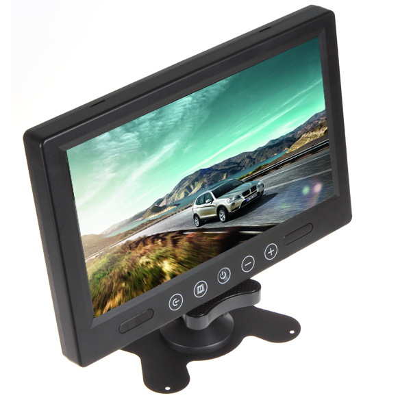 9 Inch Remote Control TFT LCD Car Monitor Color Screen Car Rear View Monitor With 2 Video Input ,FREE SHIPPING !<br><br>Aliexpress