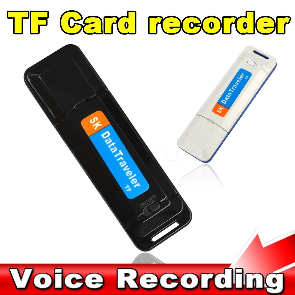 O High-Quality Mini Portable U-Disk Digital USB Voice Recorder Audio Dictaphone Pen Flash Drive Need TF Card Supports Up to 32G(China (Mainland))