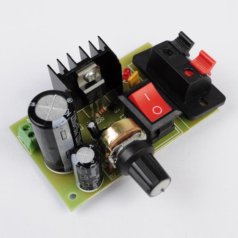 LM317 Step Down Power Module DIY Kit DC 5V-35V to 1.25V-30V AC/DC Buck Converter(China (Mainland))