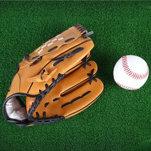 Fashion Baseball Gloves New Portable Brown Men Softball Baseball Glove Sports Player Preferred 10.5 inch 11.5 inch 12.5inch(China (Mainland))
