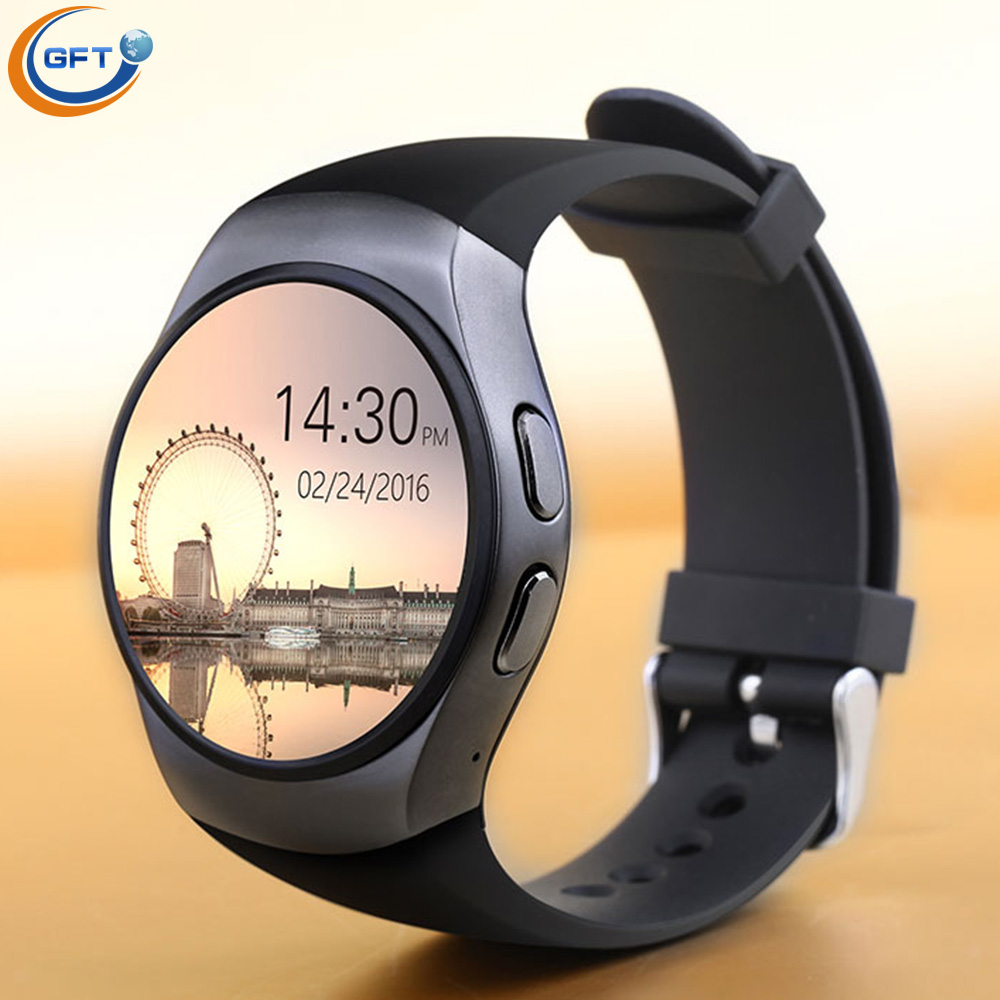 GFT kw18 mtk2520c smart watch sim business round men smartwatch android 3G phone watch with heart rate monitor MTK2520C watch(China (Mainland))