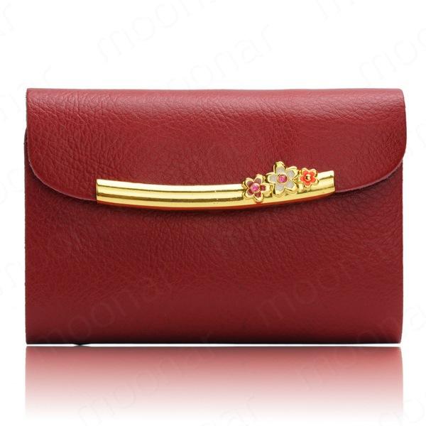 Men's Women Leather Credit Card Holder/Case card holder wallet Business Card Package Bank Card Bag F*USB530#M1(China (Mainland))