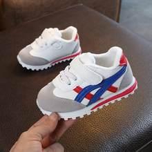 Crianças sapatos esportivos para meninos meninas do bebê da criança crianças apartamentos tênis moda casual infantil macio sapato(China)