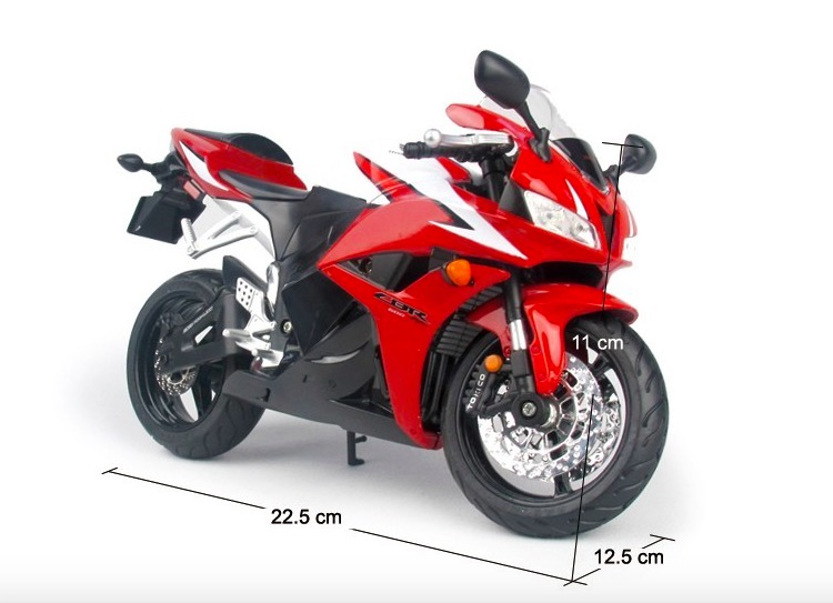 1:9 Diecast Metal Motorc bike CBR 600RR Alloy Scale Model Mini Motorcycle Diecast Motor Bike Kids Toys Gift Collection(China (Mainland))