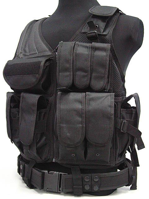SWAT US SWAT Airsoft Tactical Hunting Combat Vest BK bulletproof vest(China (Mainland))