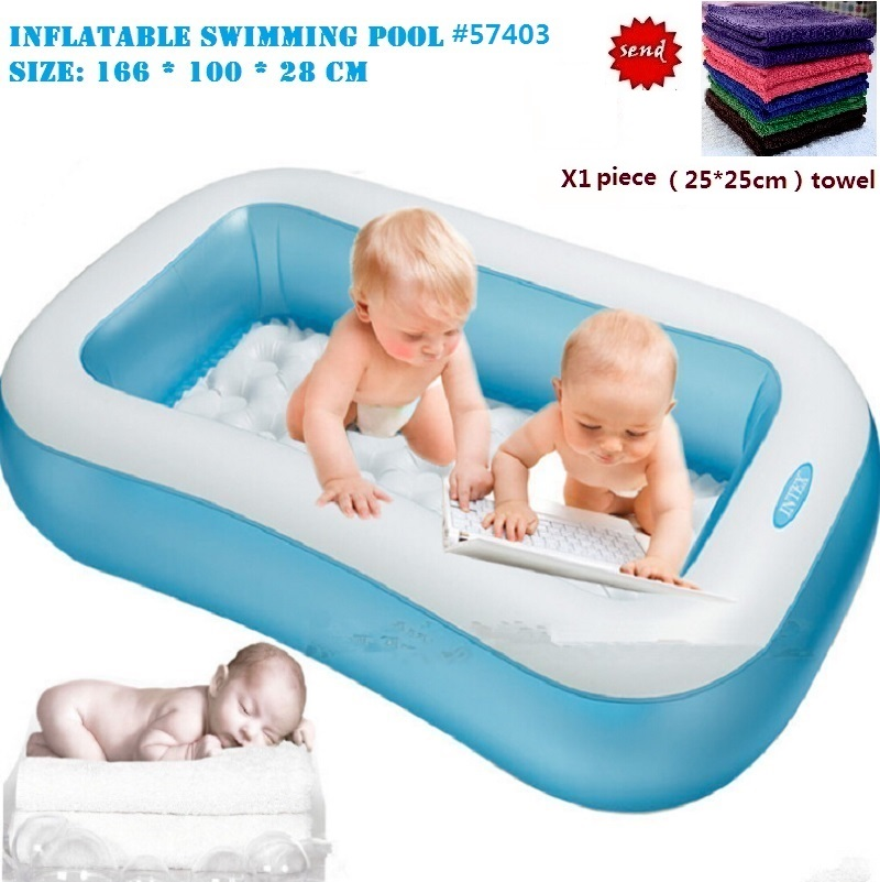 2016 New Kids Inflatable Swimming Pool Family Swimming Pool PVC Inflatable Baby Pool plastic pool(China (Mainland))