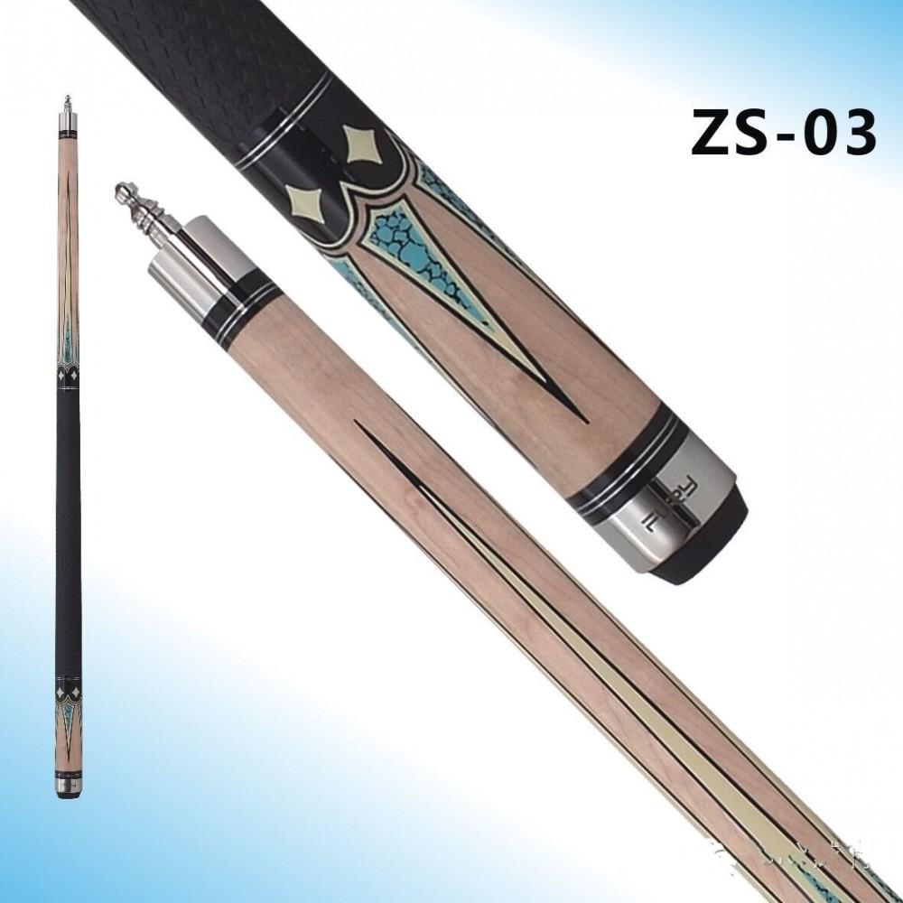 Fury Pool Cue Model ZS-03 11.75 mm Tip 147cm billiard cue stick Silicone sport grip 19 oz /19.5oz(China (Mainland))