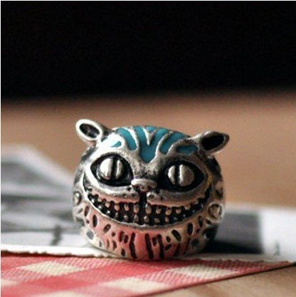 Shopping festival Fashion lovely cartoon smile cat head alloy rings Good quality ! Free shipping Min.order $15 mix order