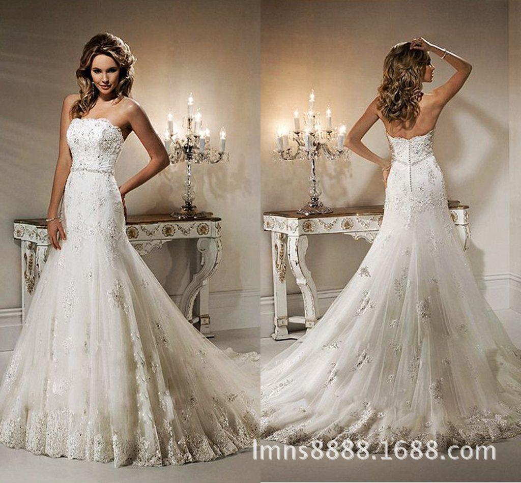 2014 new high end custom wedding bride wedding tail for High end wedding dress