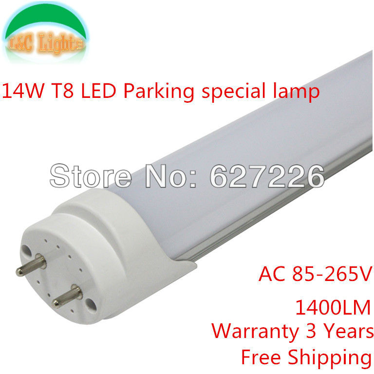 2013 Hot!Free Shipping!LED tube T8 Tube 14W 1200mm,Parking special lamp,1400LM,Warranty 3 Years,RoHS CE FCC Approve,10 PCs a Lot<br><br>Aliexpress
