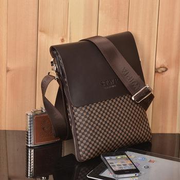New arrival Men official package male shoulder bag genuine leather bag business casual cowhide shoulder bag man bag