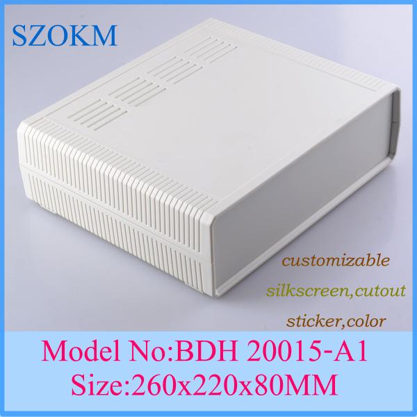 1 piece plastic enclosure project box plastic case for electronics project box 260x220x80 mm<br><br>Aliexpress